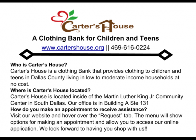 2018 Carters House