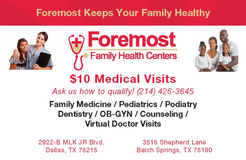 Foremost-Family-Health-Center-Services