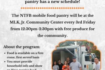 NTFB Mobile Food Bank flyer