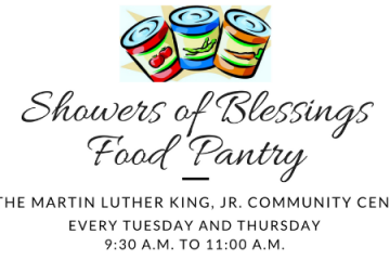 showers of blessings food pantry