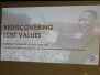 Rediscovering Lost Values (Black History Month Panel Discussion)