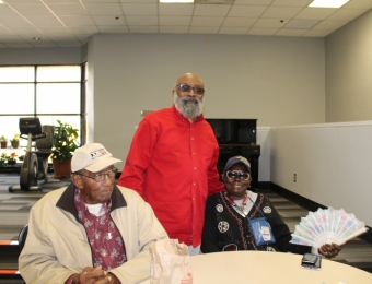 Thanksgiving with the MLK Seniors