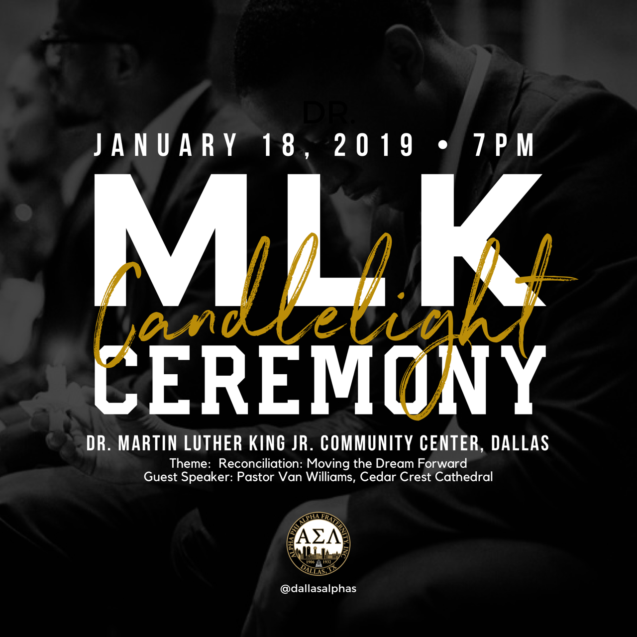 MLK Candlelight Ceremony @ MLK, Jr. Recreation Center