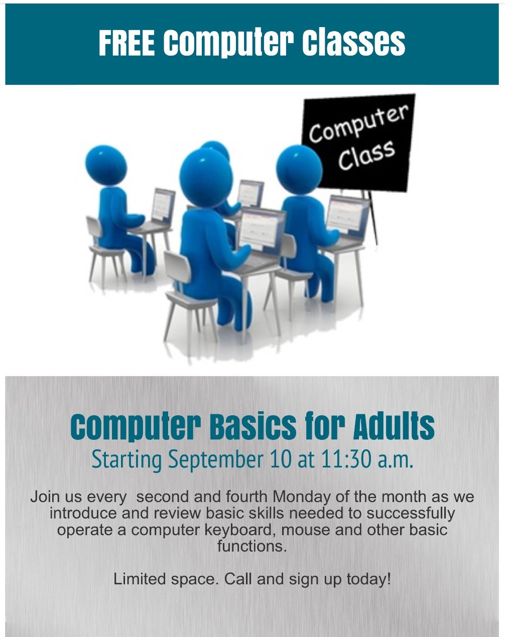 Free Computer Classes