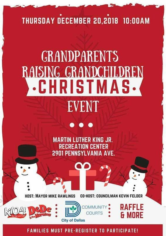 Grandparents Raising Grandchildren @ Martin Luther King, Jr. Community Center