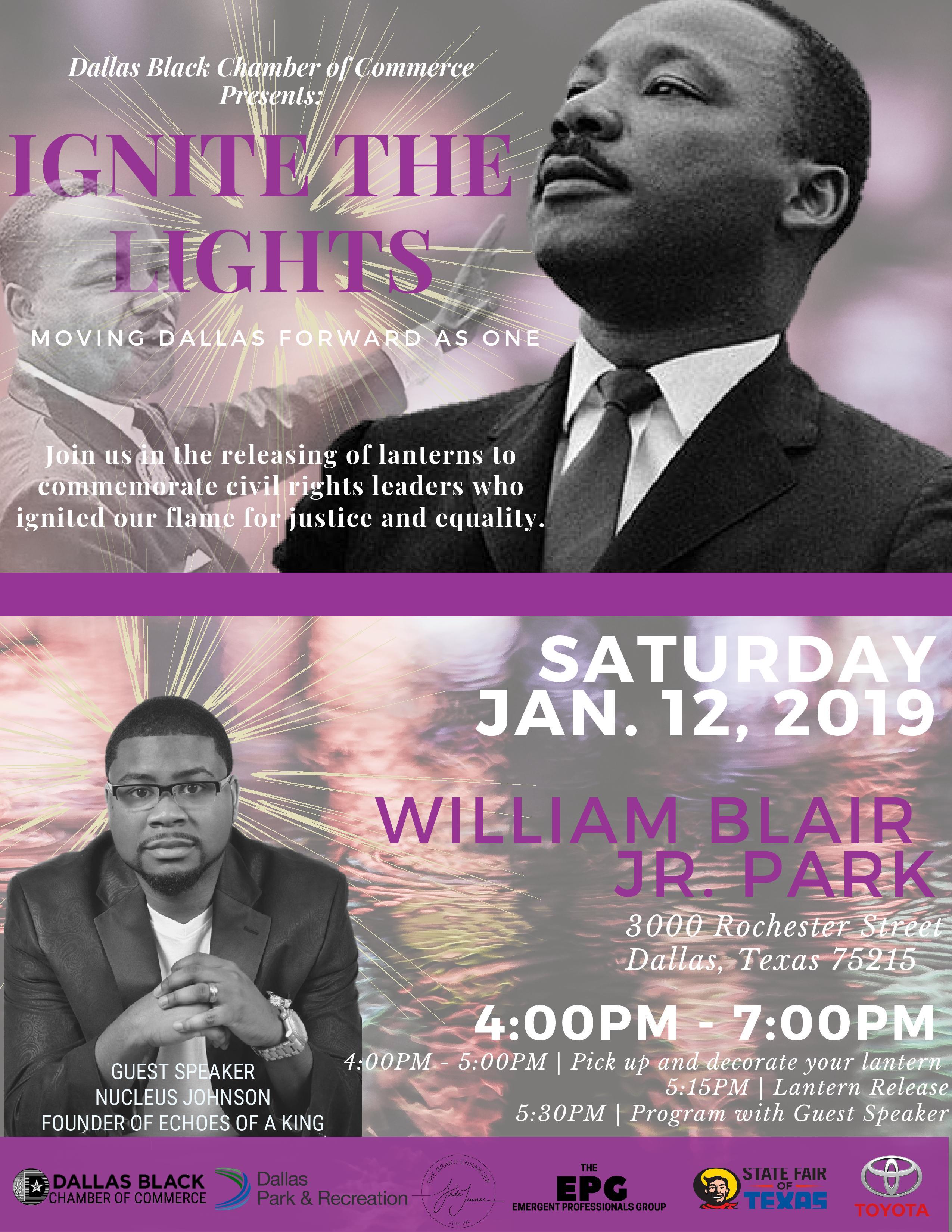 Ignite the Lights at Blair Park @ William Blair Jr. Park