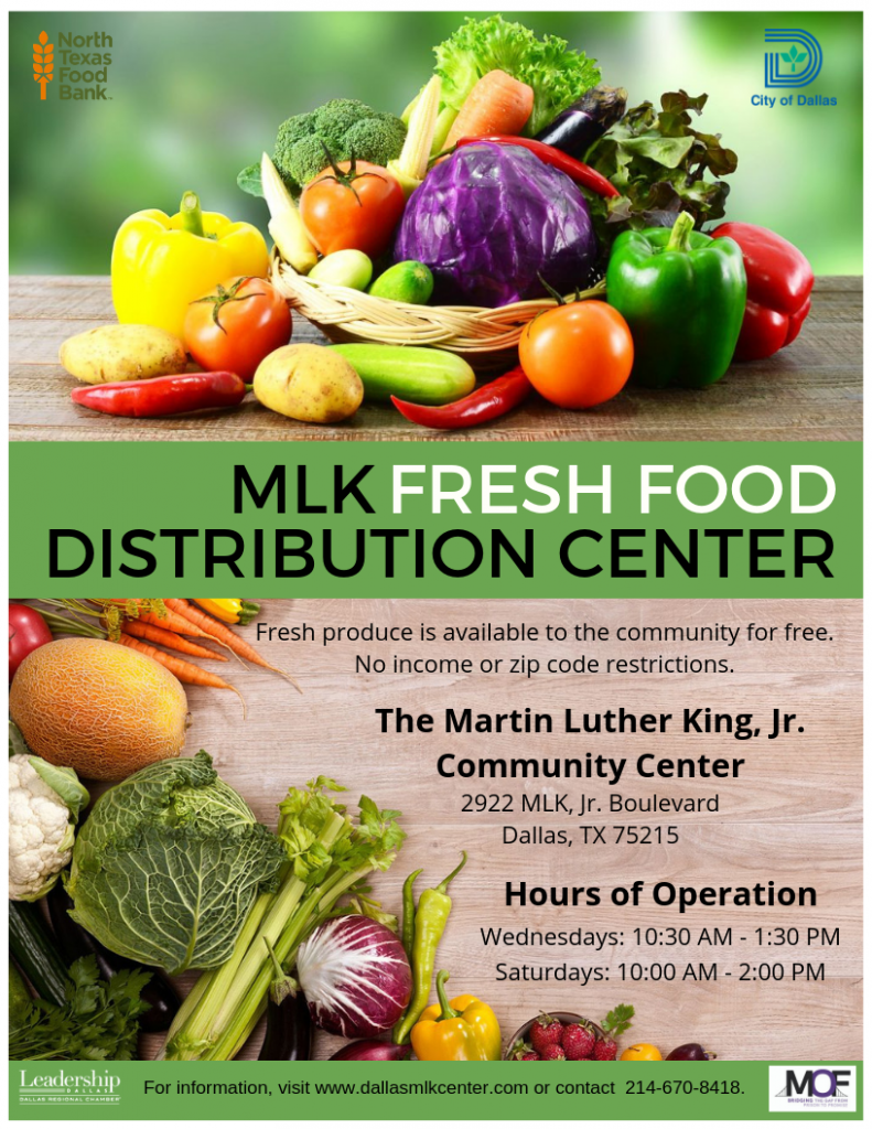 MLK Fresh Food Distribution Center @ MLK, Jr. Community Center