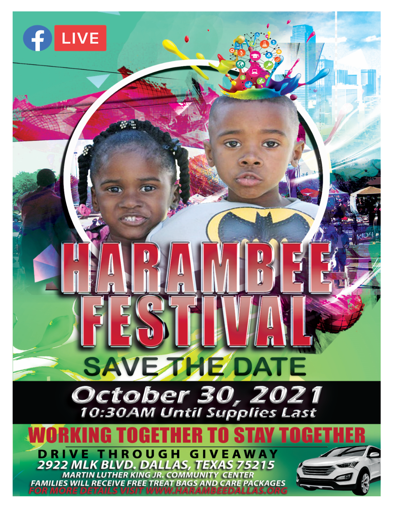 2021 Harambee Festival @ The MLK, Jr. Community Center
